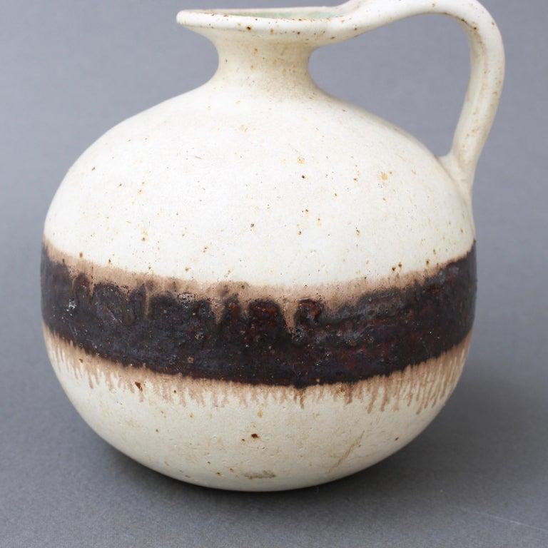 Italian Ceramic Decorative Jug by Bruno Gambone, circa 1970s For Sale 4