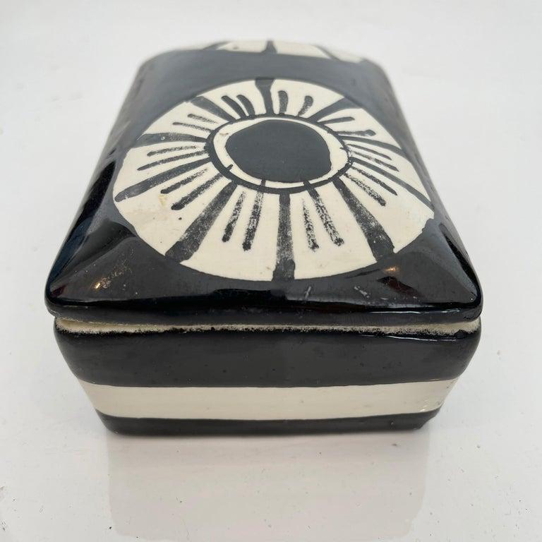 Late 20th Century Italian Ceramic Flower Box For Sale