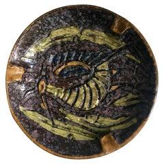 Italian Ceramic Glazed Ash 420 Ashtray
