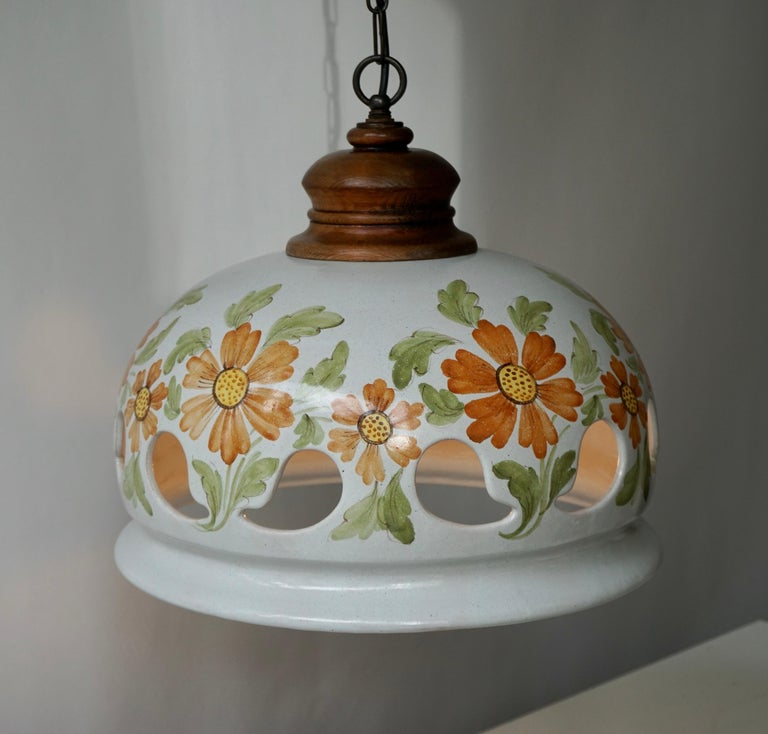 Italian ceramic table lamp.