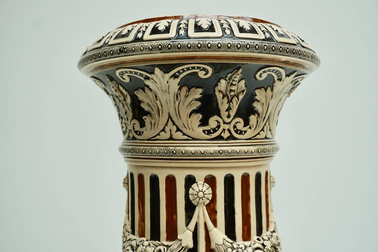 Italian Ceramic Pedestal or Column For Sale 3
