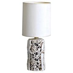 Italian Ceramic Table Lamp 60's
