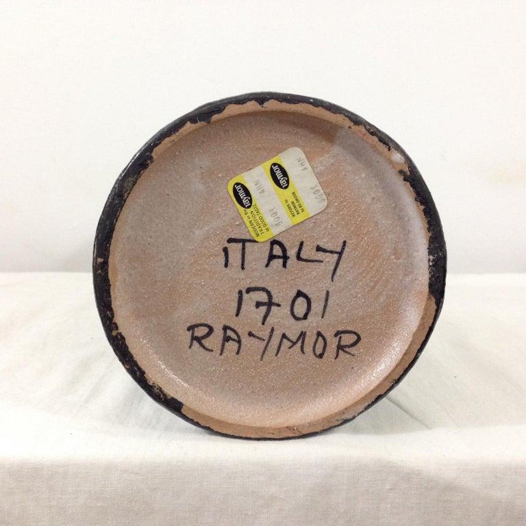 Italian Ceramic Vase by Raymor For Sale 1