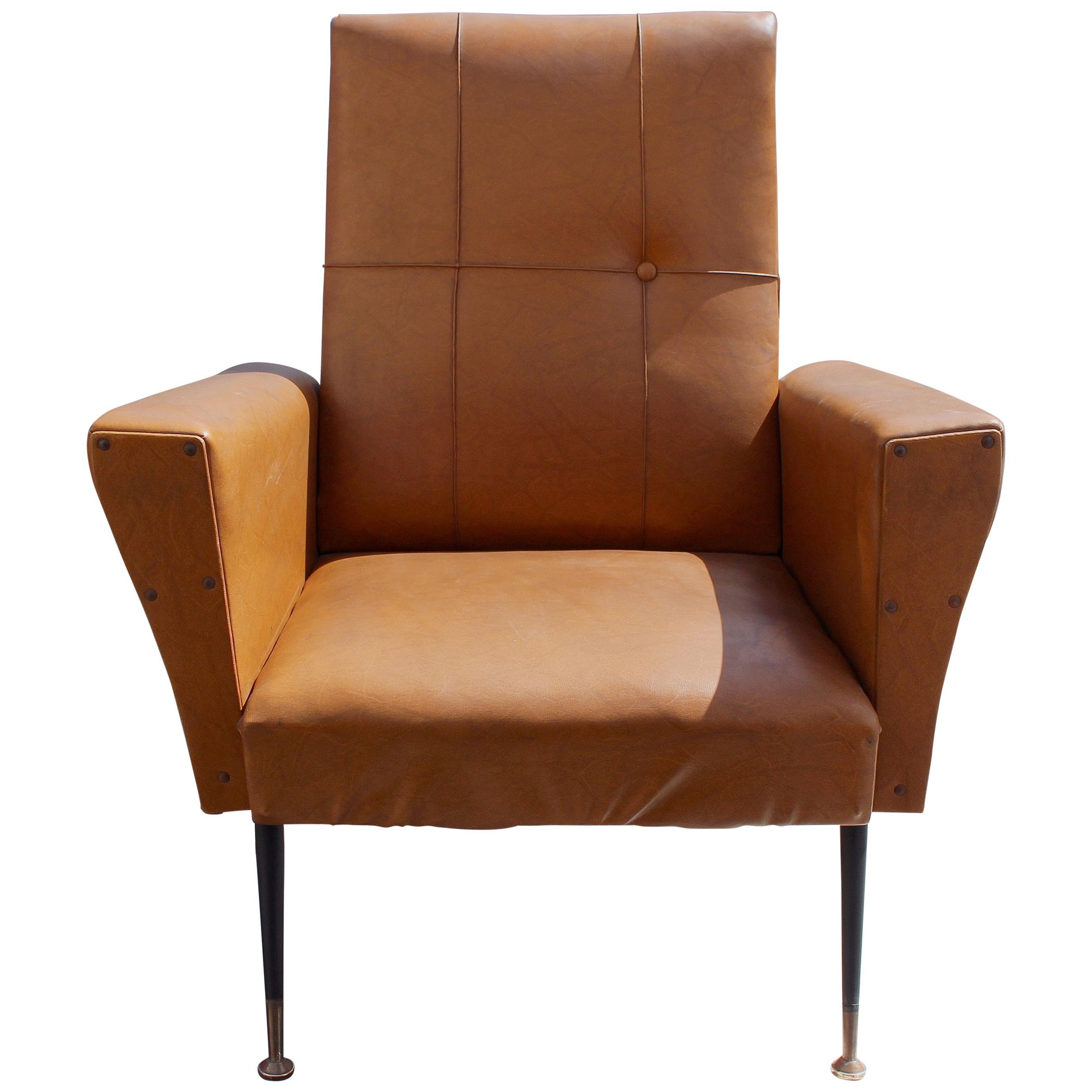 Italian Chair in Style of Gigi Radice