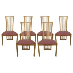 Italian Chairs by Pietro Costantini, Set of Six