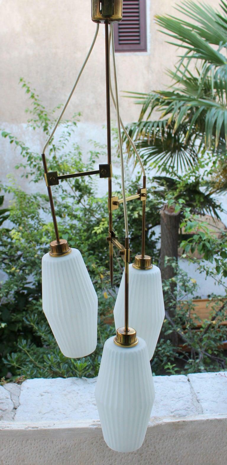 European Italian Chandelier Art Deco Style For Sale