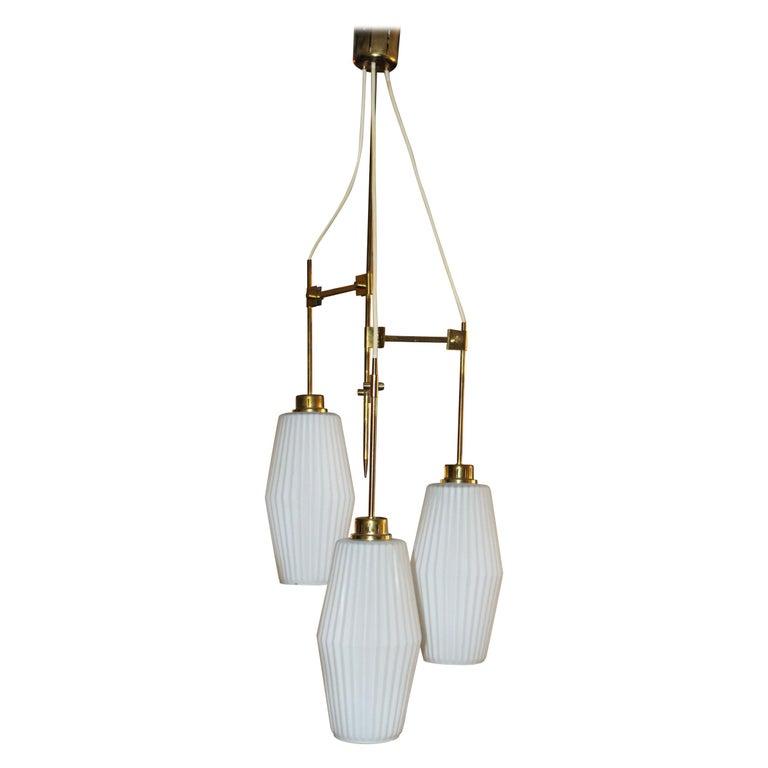 Italian Chandelier Art Deco Style For Sale