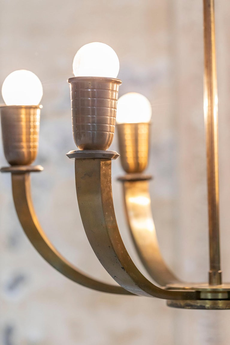 Italian Chandelier from the '30s For Sale 1