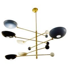 Italian Chandelier in Brass