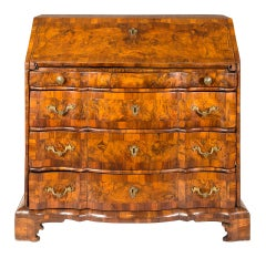 Italian Chest of Drawers, Venice, 18th Century, Walnut Wood, Italy Louis XIV