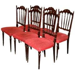 Italian Chiavarine Chairs