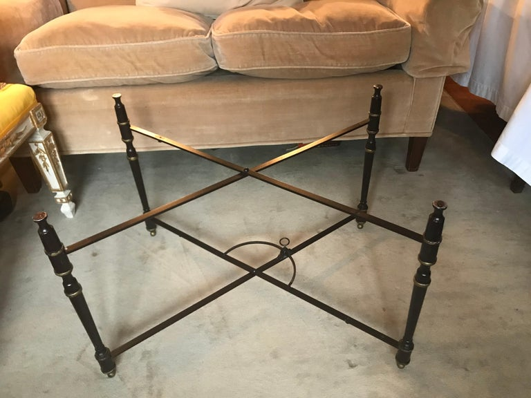 Tôle Italian Chinoiserie Tray Table For Sale