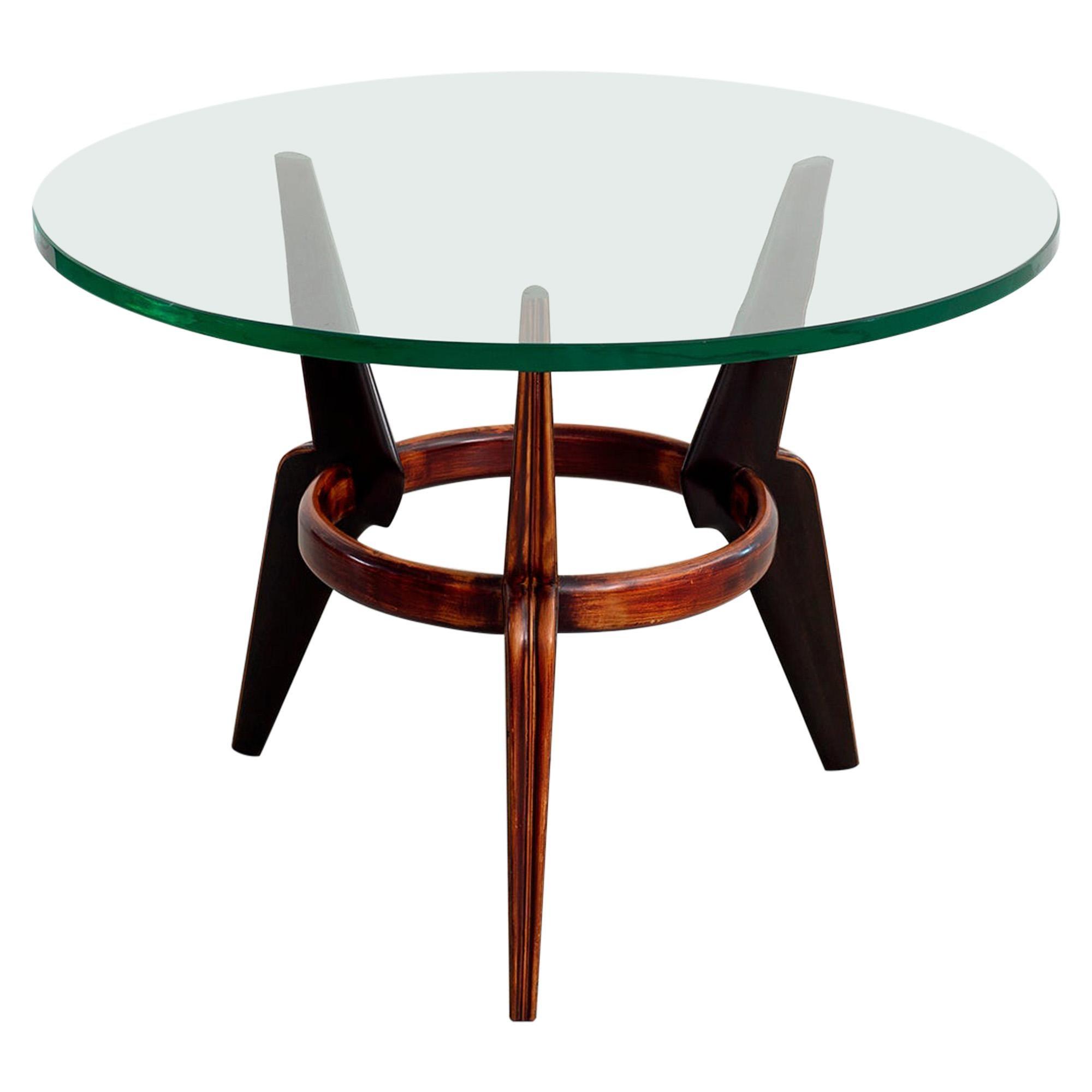 Italian Coffee Table, circa 1940s