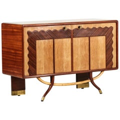 Italian Commode in the Style of Gio Ponti, 1960s Sideboard