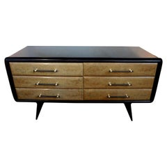 Italian Commode or Credenza Inspired by Paolo Buffa