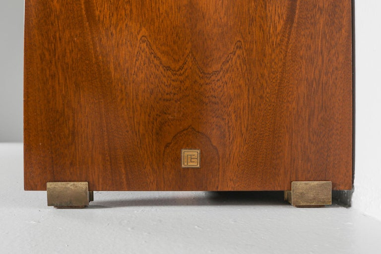 Italian Commode with Drawers Attributed to Carlo Scarpa For Sale 1