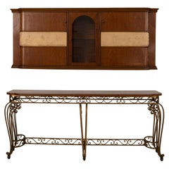 Italian Console and Cabinet by Bissacco