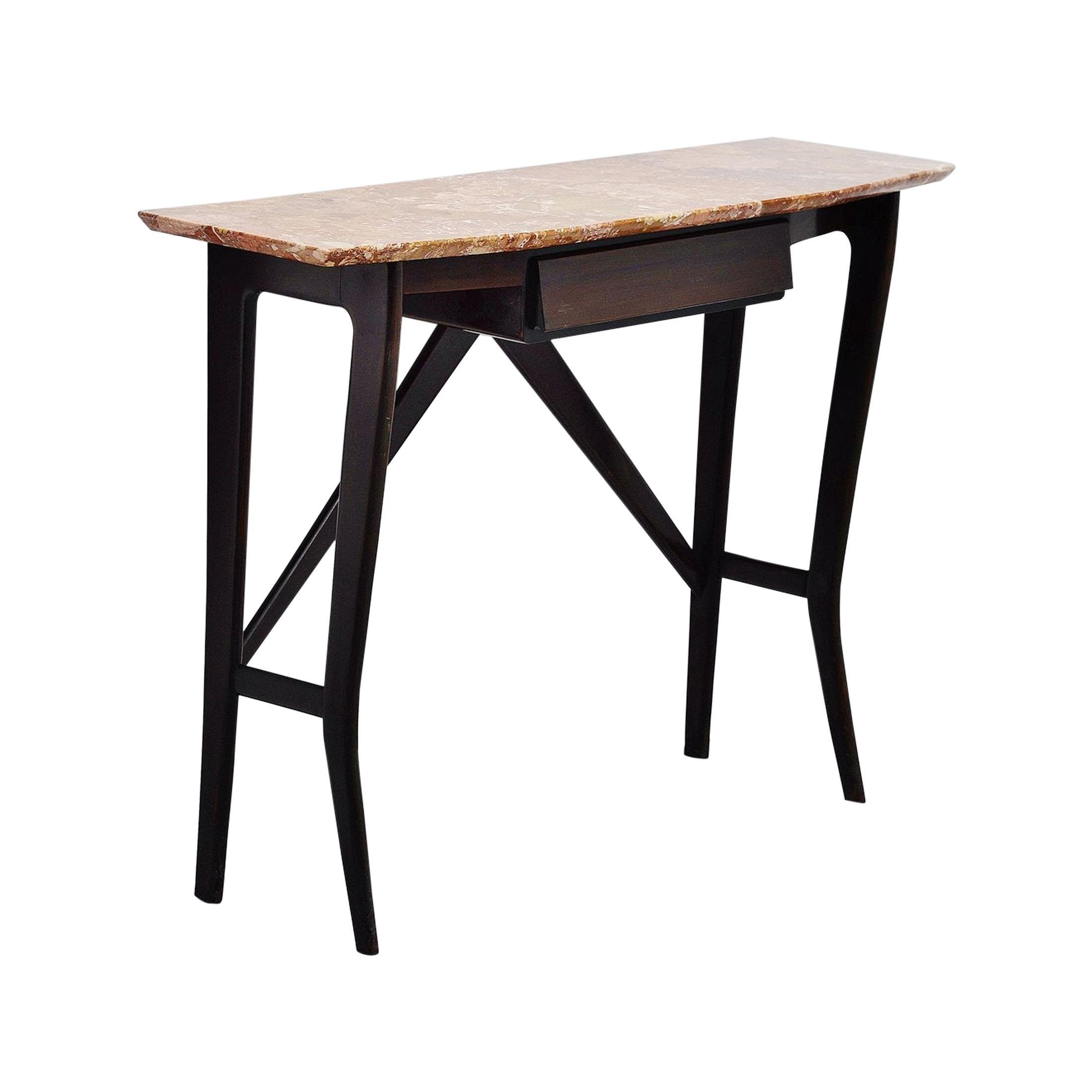 Italian Console Table Ico Parisi Style, Italy, 1950