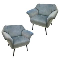 Fabric Lounge Chairs