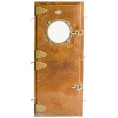 Italian Copper Dutch Door, circa 1930