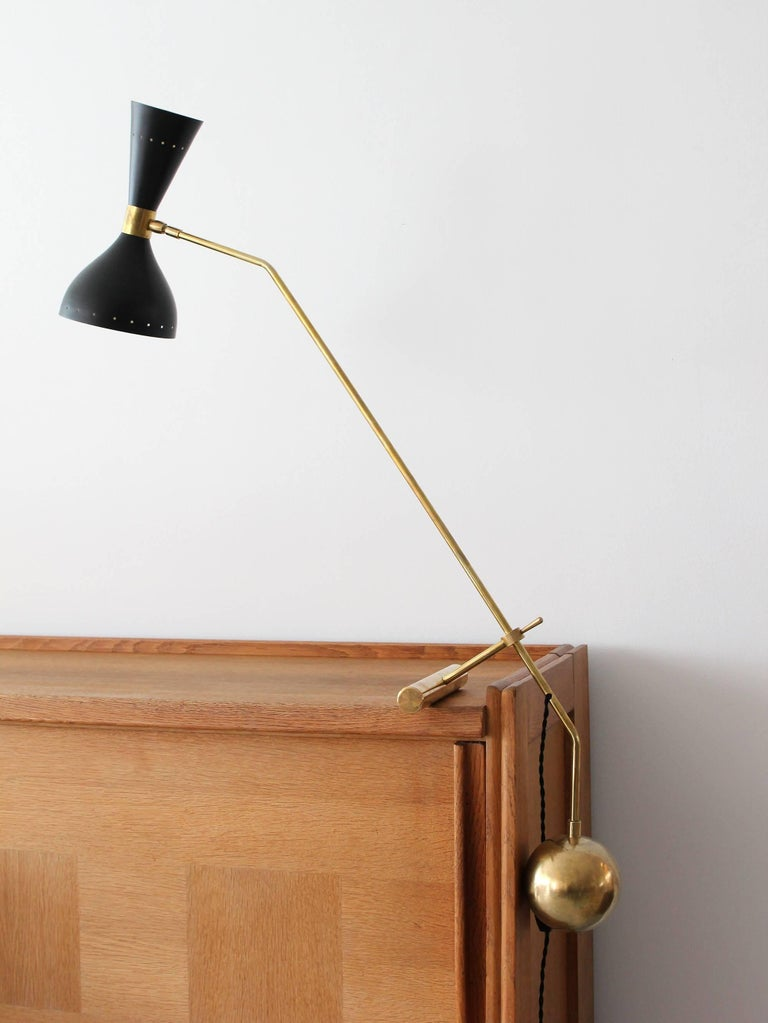 Italian Counterbalance Desk Lamp For Sale 5