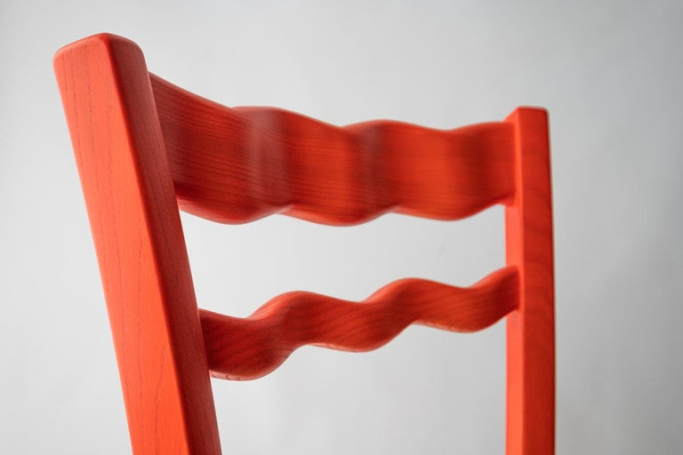 Italian Countryside Wooden Chair