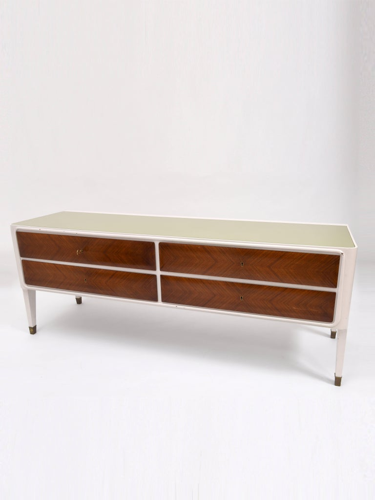 Italian Credenza Sideboard In Fair Condition For Sale In London, GB