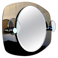 Italian Crystal Art Wall Mirror for the Bathroom