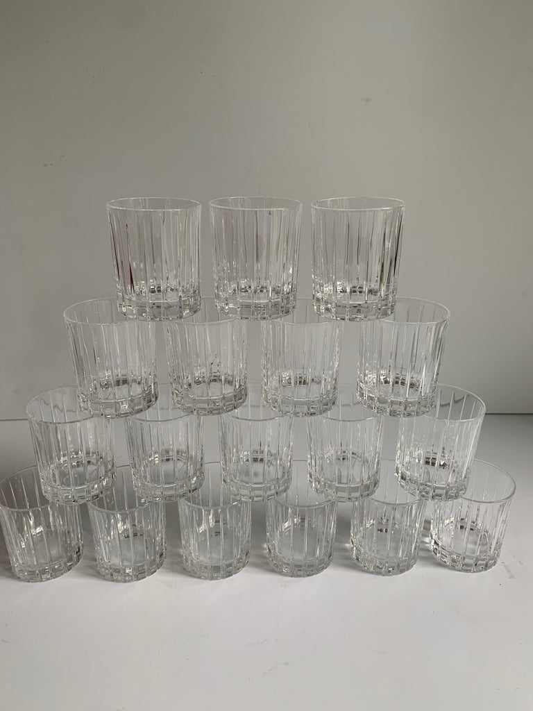 Italian Crystal Shot Glasses For Sale 5