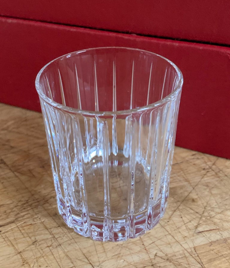Italian Crystal Shot Glasses For Sale 8