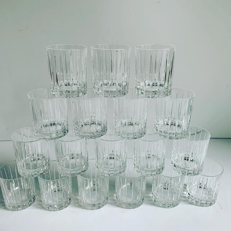 Italian Crystal Shot Glasses For Sale 11