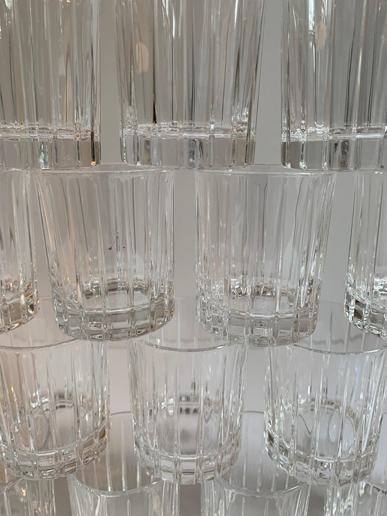 Italian Crystal Shot Glasses For Sale 1
