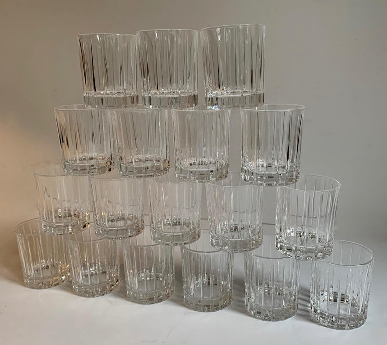 Italian Crystal Shot Glasses For Sale 3