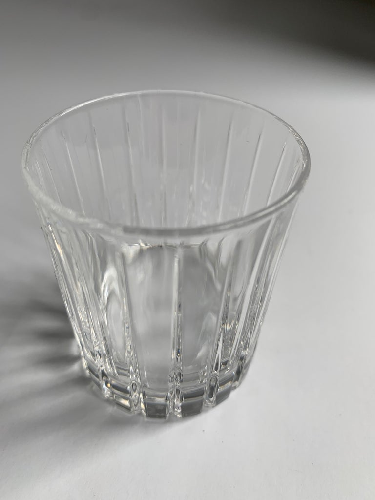 Italian Crystal Shot Glasses For Sale 4