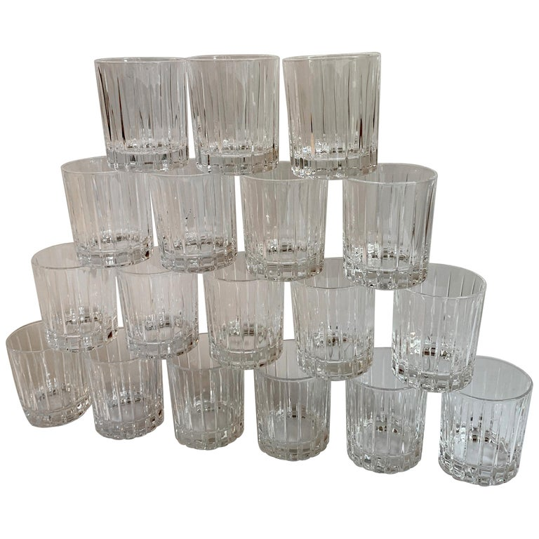 Italian Crystal Shot Glasses For Sale