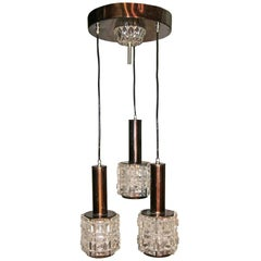 Italian Cut Glass Chandelier