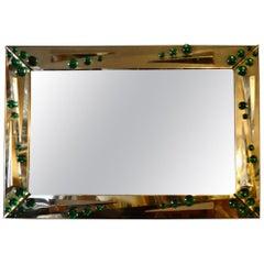 Italian Deco Mirror, 1980