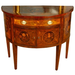 Italian Demilune Table