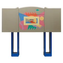 Italian Design Bar Cabinet Cantaride by Alessandro Medini for Zanotta