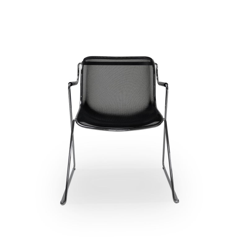 Italian Design Classic Pollock Penelope Chairs, by Castelli In Good Condition For Sale In Renens, CH