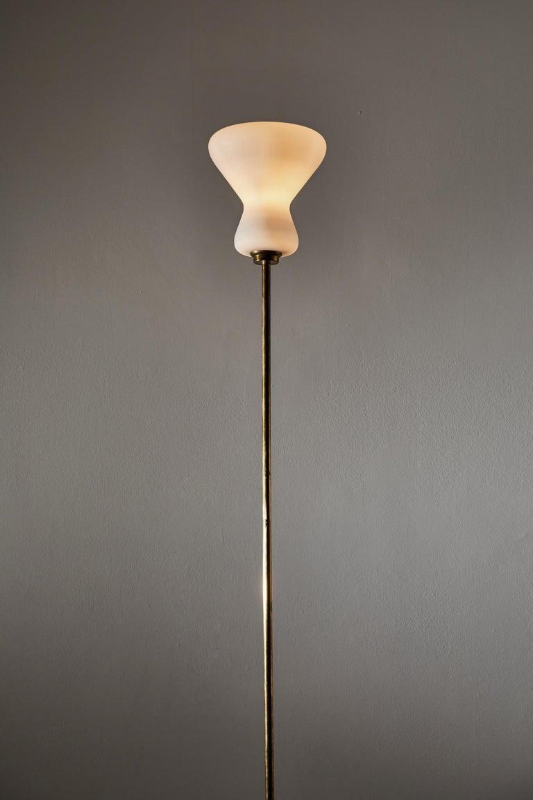 Italian Design Floor Lamp In Good Condition For Sale In Los Angeles, CA