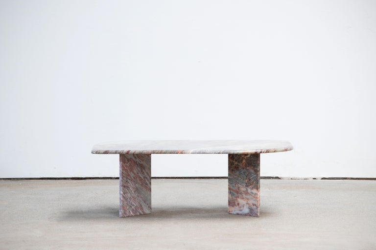 Italian design Marble Coffee Table 1970 For Sale 5