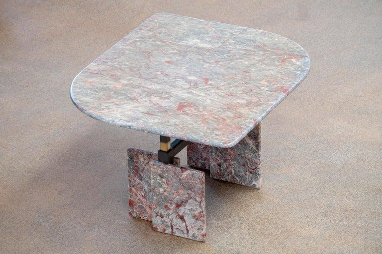 Mid-Century Modern Italian Design Marble Coffee Table, 1970 For Sale