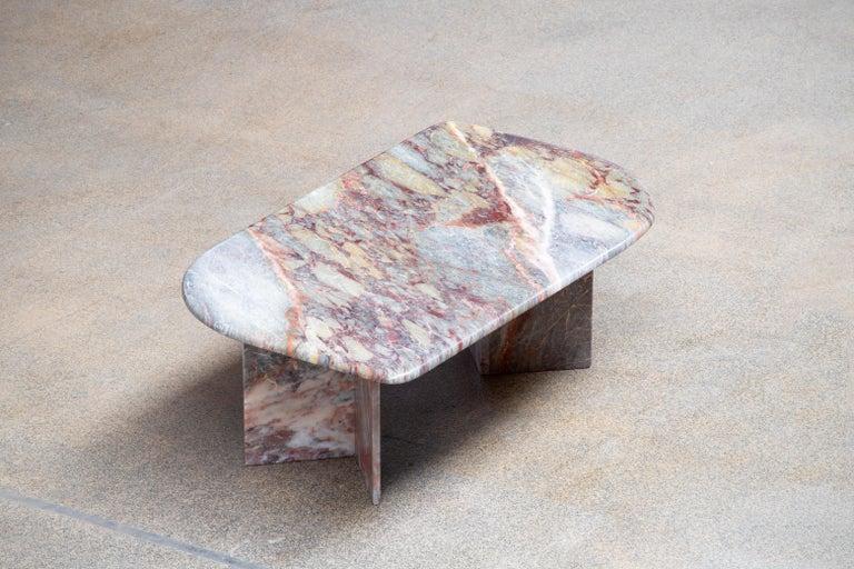 Mid-Century Modern Italian design Marble Coffee Table 1970 For Sale