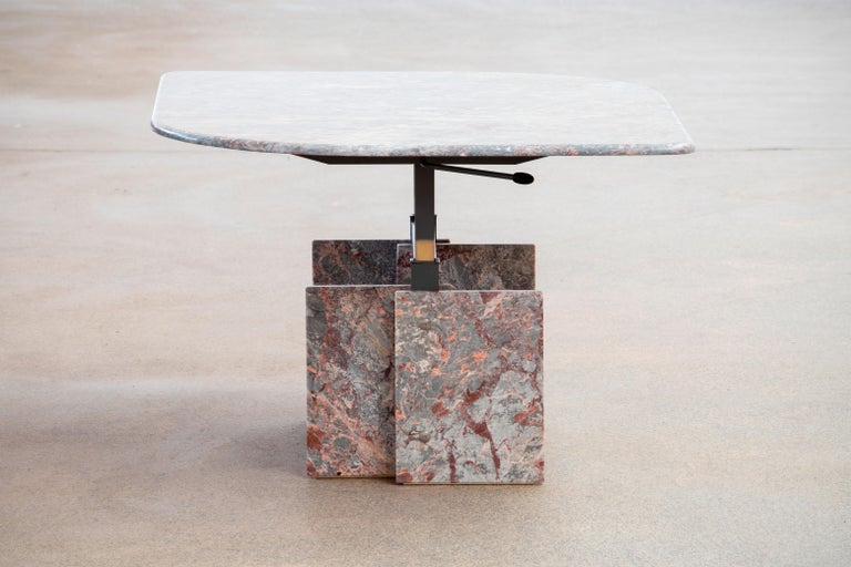 Italian Design Marble Coffee Table, 1970 For Sale 1
