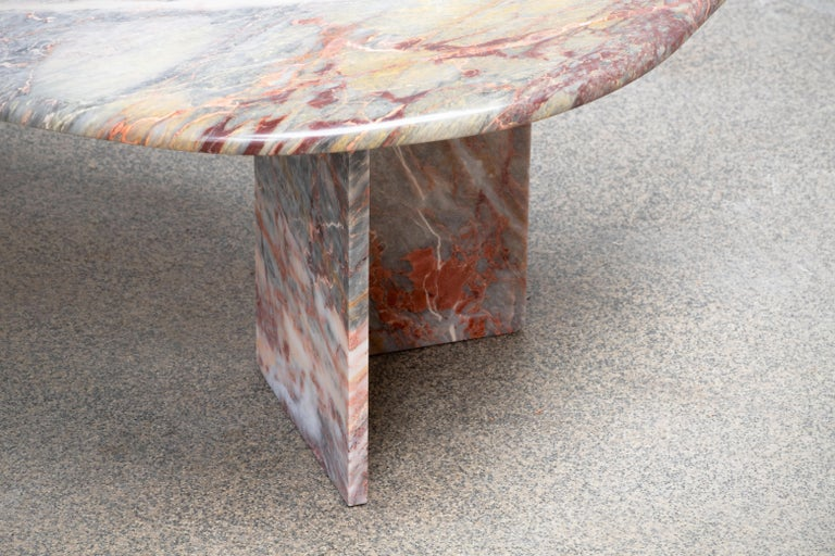 Italian design Marble Coffee Table 1970 For Sale 1
