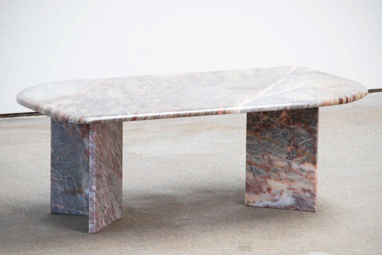 Italian design Marble Coffee Table 1970 For Sale 3