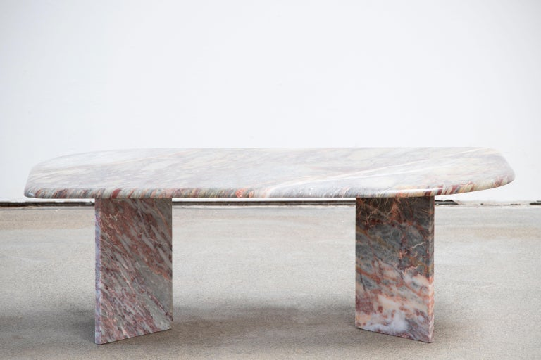 Italian design Marble Coffee Table 1970 For Sale 4