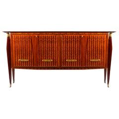 Italian Design Midcentury Sideboard or Bar Cabinet by Vittorio Dassi, 1948