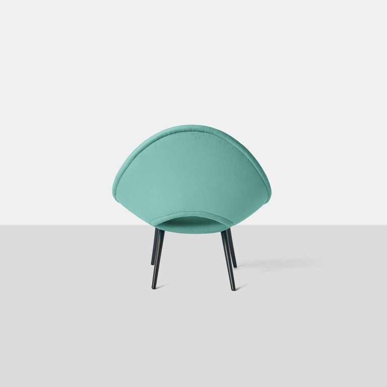 Italian Design Scoop Chair In Excellent Condition For Sale In San Francisco, CA